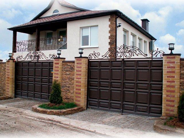 Как выбрать въездные ворота
