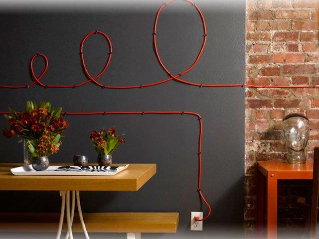 Как декорировать провода