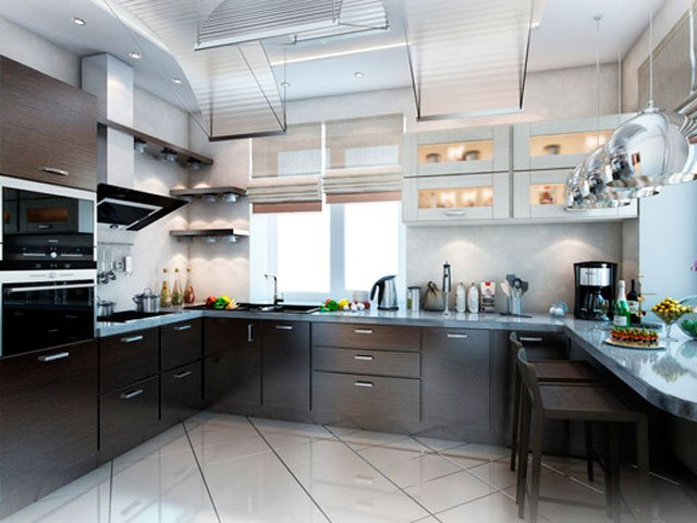 Стиль современной кухни
