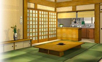 Интерьер в японском стиле ДСП