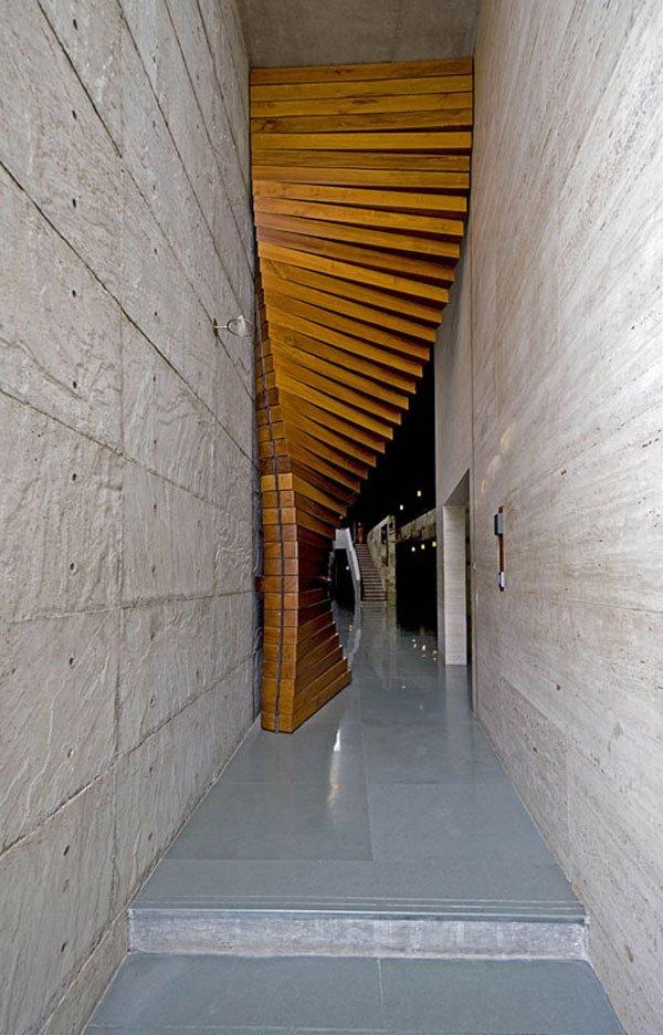 Curtain-Door-Between-Concrete-Walls