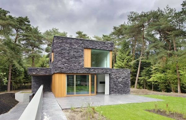 Living-in-the-Woods-Stone-Finnished-Villa-3
