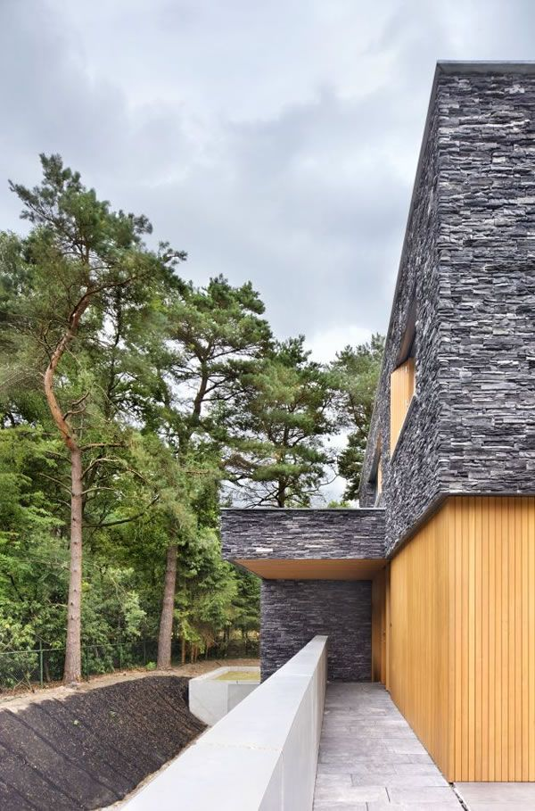 Living-in-the-Woods-Stone-Finnished-Villa-4