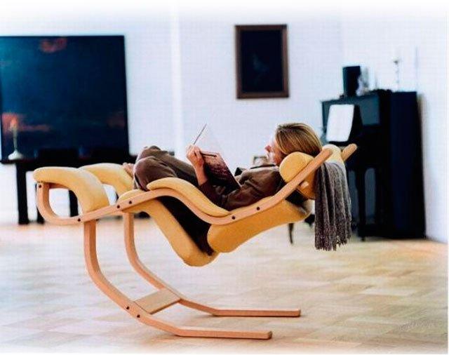 Как дома сделать кресло качалку
