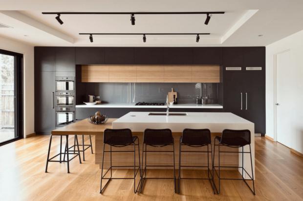 Современный интерьер кухни 2017
