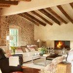 гостиная в прованском стиле