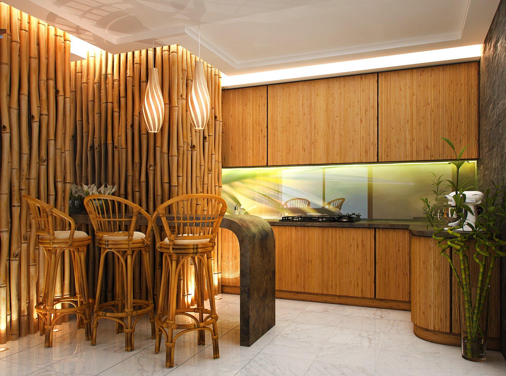 говорить обои бамбук в интерьере фото есть настроение