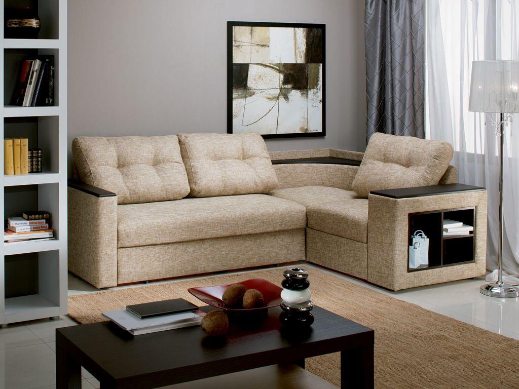 Фото ярких угловых диванов