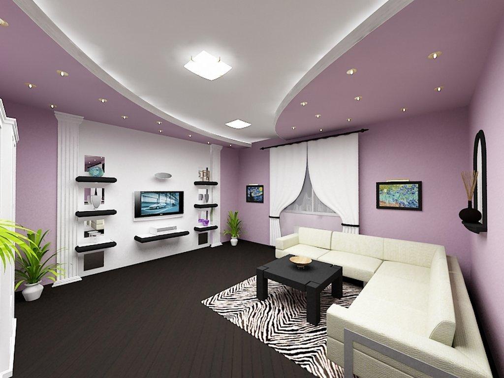 Ремонт зала потолка в картинках