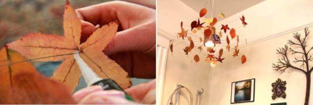Крепление листьев